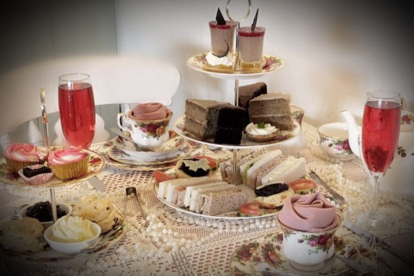 Sovereign Afternoon Tea for two people